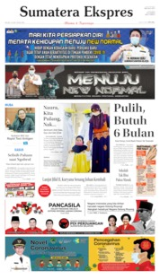 Sumatera Ekspres Cover 16 June 2020