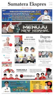 Sumatera Ekspres Cover 17 June 2020