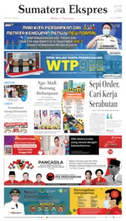 Sumatera Ekspres Cover 18 June 2020