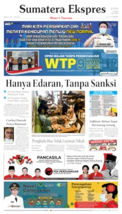 Sumatera Ekspres Cover 21 June 2020