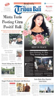 Cover Tribun Bali 21 November 2019