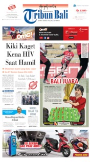 Tribun Bali Cover 02 December 2019
