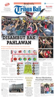 Tribun Bali Cover 04 December 2019