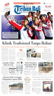 Tribun Bali Cover 05 December 2019
