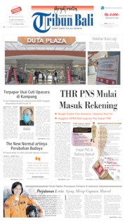 Tribun Bali Cover 20 May 2020