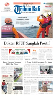 Tribun Bali Cover 22 May 2020