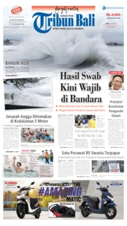 Tribun Bali Cover 28 May 2020