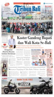 Tribun Bali Cover 30 May 2020