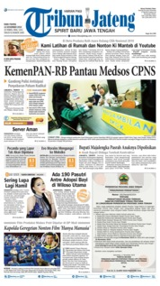 Tribun Jateng Cover 13 November 2019