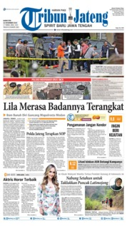 Tribun Jateng Cover 14 November 2019