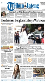 Tribun Jateng Cover 21 January 2020