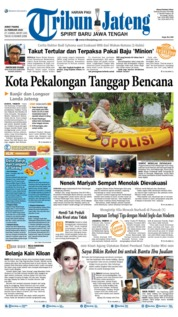 Tribun Jateng Cover 21 February 2020