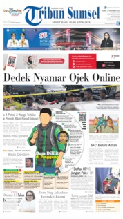 Tribun Sumsel Cover 14 November 2019
