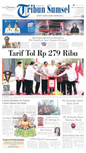 Tribun Sumsel Cover 16 November 2019