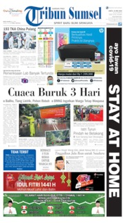 Tribun Sumsel Cover 23 May 2020
