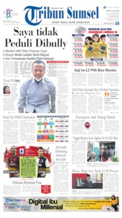 Tribun Sumsel Cover 07 July 2020