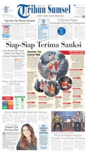 Tribun Sumsel Cover 10 July 2020