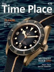 Cover Majalah The Time Place Indonesia ED 70 September 2019