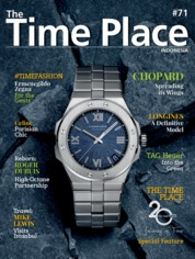 Cover Majalah The Time Place Indonesia ED 71 April 2020