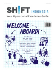Cover Majalah SHIFT Indonesia ED 01 Februari 2020
