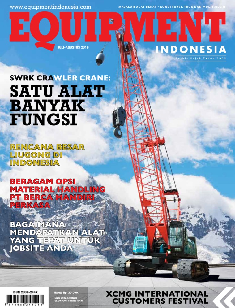 EQUIPMENT Indonesia Digital Magazine July 2019