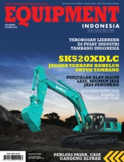 EQUIPMENT Indonesia Magazine Cover September 2019