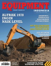 EQUIPMENT Indonesia Magazine Cover November 2019