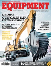 EQUIPMENT Indonesia Magazine Cover January 2020