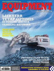 Cover Majalah EQUIPMENT Indonesia / MAR-APR 2020 April 2020