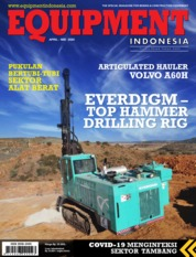 EQUIPMENT Indonesia Magazine Cover April-May 2020