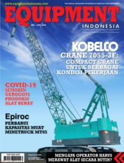 Cover Majalah EQUIPMENT Indonesia Mei 2020