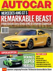 Cover Majalah AUTOCAR Indonesia April 2016