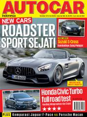 Cover Majalah AUTOCAR Indonesia November 2016