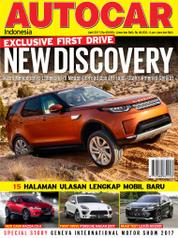 Cover Majalah AUTOCAR Indonesia April 2017