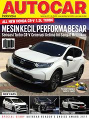 Cover Majalah AUTOCAR Indonesia September 2017