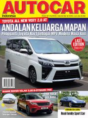 AUTOCAR Indonesia Magazine Cover October 2017