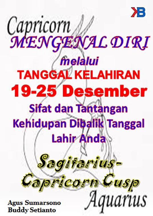 Buku Digital Capricorn-Aquarius Cusp 17 - 22 Januari oleh Buddy Setianto