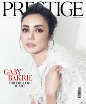 Cover Majalah Prestige Indonesia April 2020