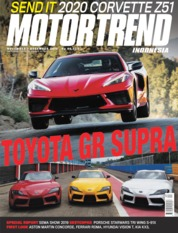 Cover Majalah MOTOR TREND Indonesia November-Desember 2019