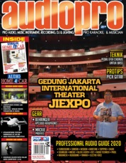 Cover Majalah audiopro Januari 2020
