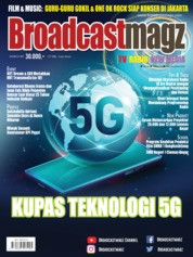 Broadcast Magz Magazine Cover ED 85 February 2020