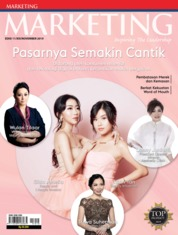 Cover Majalah MARKETING November 2019