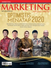 Cover Majalah MARKETING Desember 2019