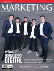 Cover Majalah MARKETING Januari 2020