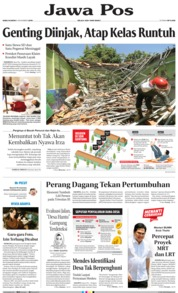 Jawa Pos Cover 06 November 2019