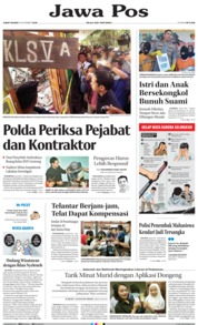 Jawa Pos Cover 08 November 2019