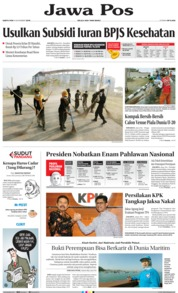 Jawa Pos Cover 09 November 2019