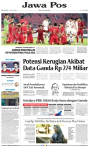 Jawa Pos Cover 11 November 2019