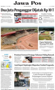 Jawa Pos Cover 13 November 2019