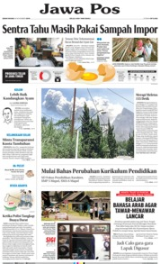 Cover Jawa Pos 18 November 2019